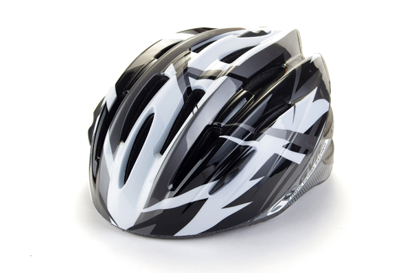 Silver Taiwan GVR G-306V Cycling Helmet With Magnetic Visor Thunder